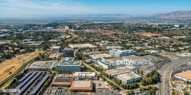 intel headquarters - silicon valley stock pictures, royalty-free photos & images