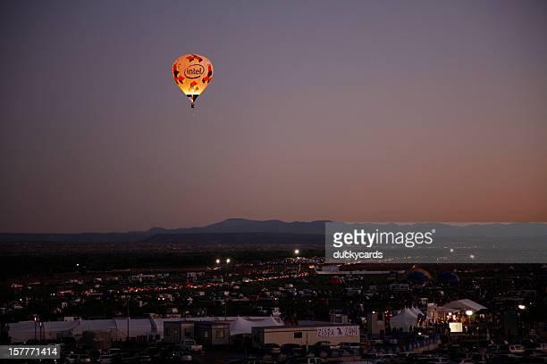 Intel Hot Air Balloon, Dawn Patrol