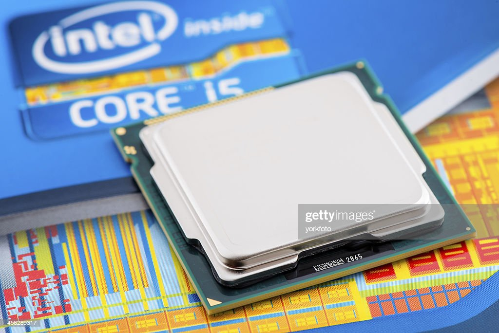 Intel Processor Core i5 2500K : Stock Photo