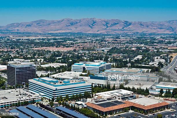 intel santa clara - birthplace of silicon valley stockfoto's en -beelden