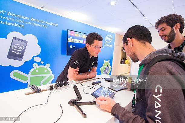 Intel the leader in microprocessor market is present at Droidcon convention in Turin with is developer tools on April 10 2015