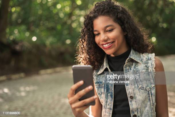 intelligence and technology - very young webcam girls stock photos and pictures