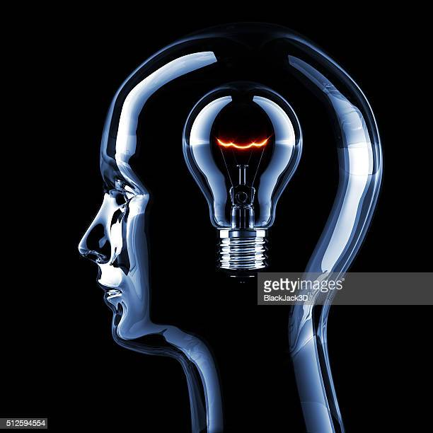 intelligence concept - head stock pictures, royalty-free photos & images
