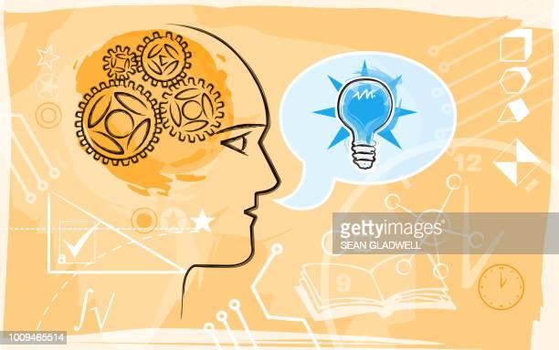 Intelligence test illustration