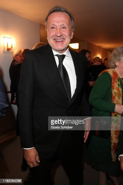 Intendant Nikolaus Bachler at the opera premiere of Die tote Stadt by Erich Wolfgang Korngold at Bayerische Staatsoper on November 18 2019 in Munich...
