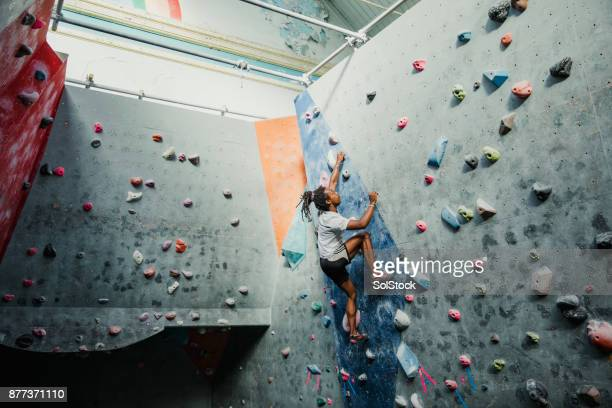 Intense Climbing Session