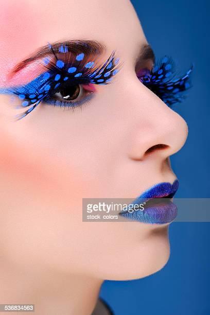 intense fashion makeup