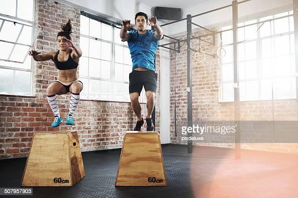 Intensives Training für einen gesunden Lebensstil