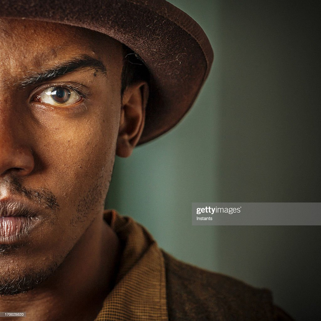 Intense Young Man : Stock Photo