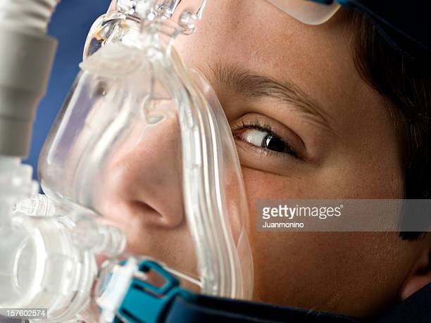 intensive care - breathing device stock pictures, royalty-free photos & images