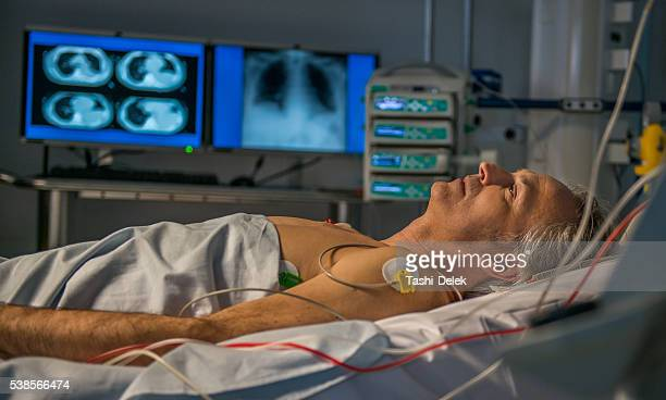 Unidad de cuidados intensivos.