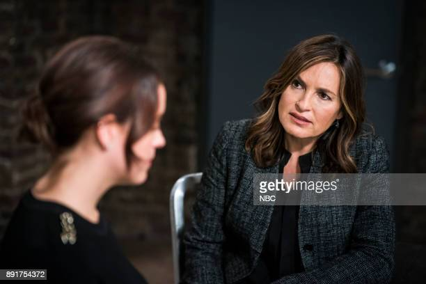 UNIT 'Intent' Episode 1908 Pictured Mariska Hargitay as Lieutenant Olivia Benson