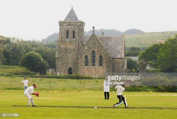 Inter Island Cricket Match in Tresco