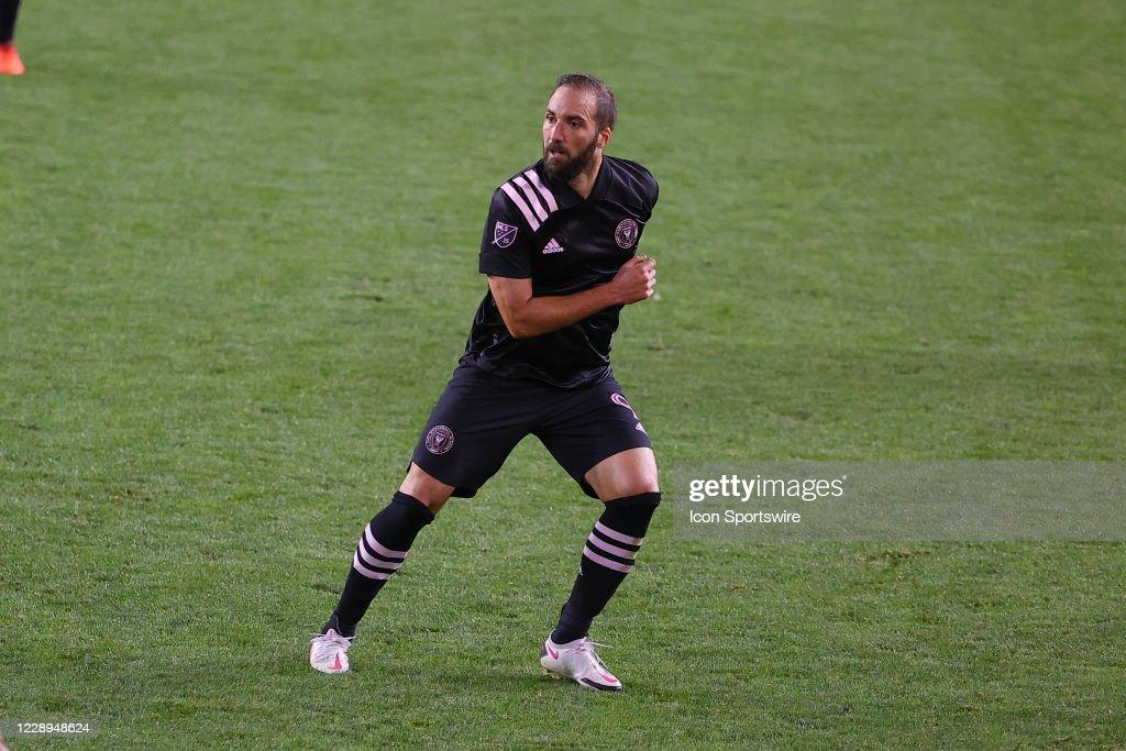 SOCCER: OCT 07 MLS - Inter Miami CF at New York Red Bulls : ニュース写真