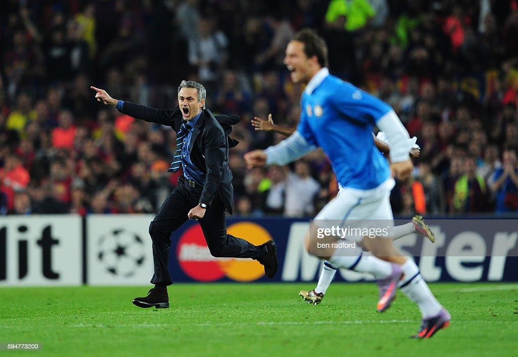 Soccer - UEFA Champions League Semifinals - Barcelona vs. Inter Milan : News Photo