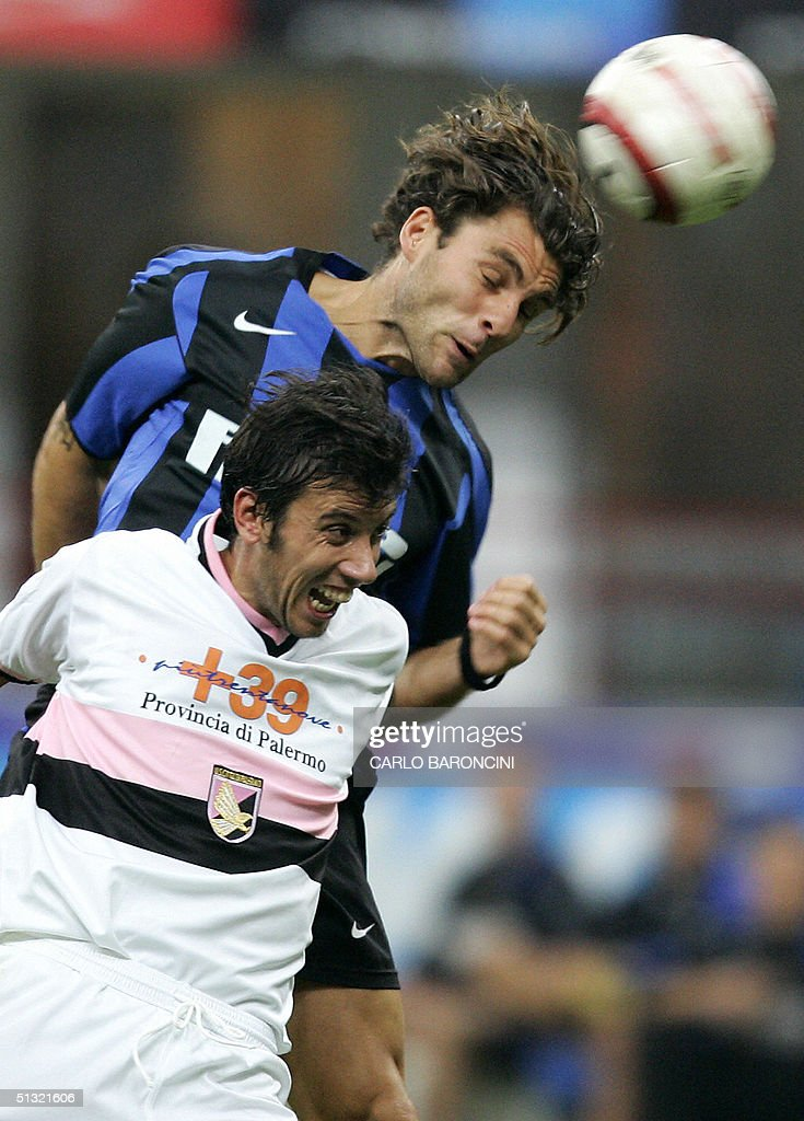 F.C. Inter Milan forward Christian Vieri : News Photo