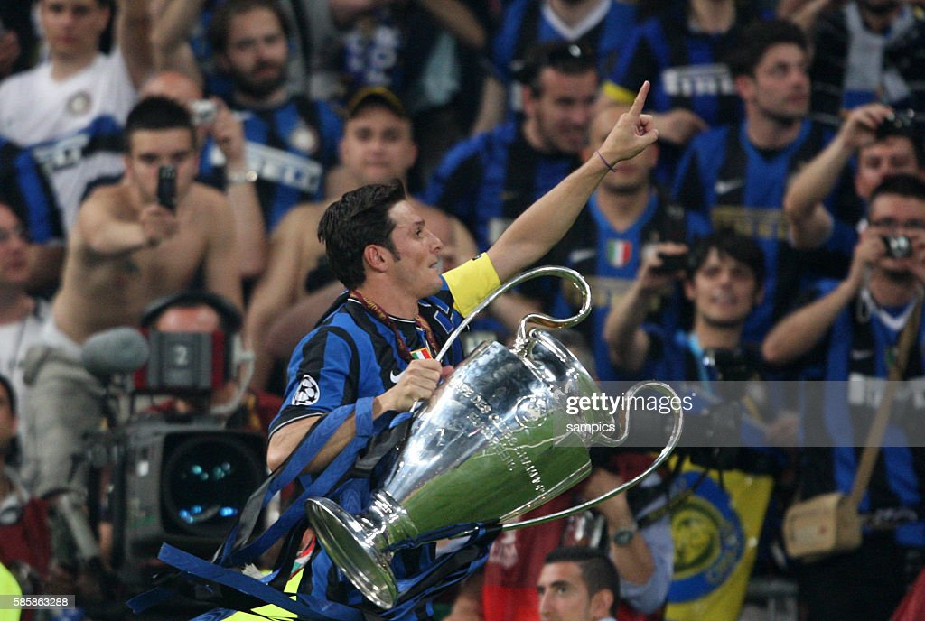 Soccer - UEFA Champions League Finals - FC Bayern Munich vs. Inter Milan : News Photo
