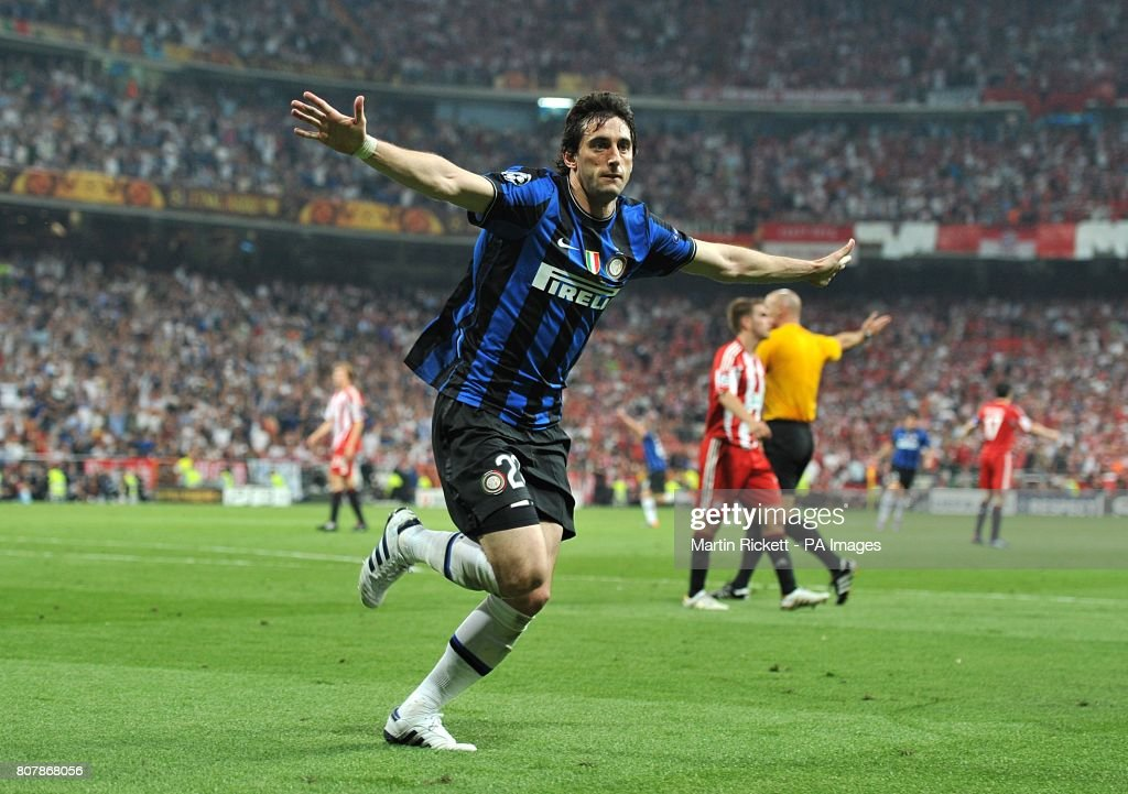 Soccer - UEFA Champions League - Final - Bayern Munich v Inter Milan - Santiago Bernabeu : News Photo