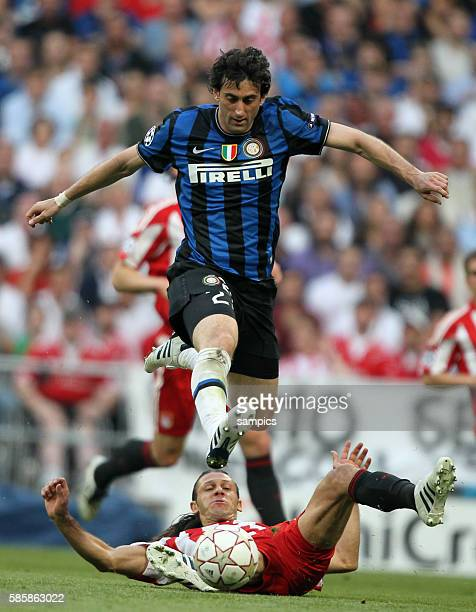 Inter Milan's Diego Milito during the UEFA Champions League final between Bayern Munich and Inter Milan at the Santiago Bernabeu stadium in Madrid...