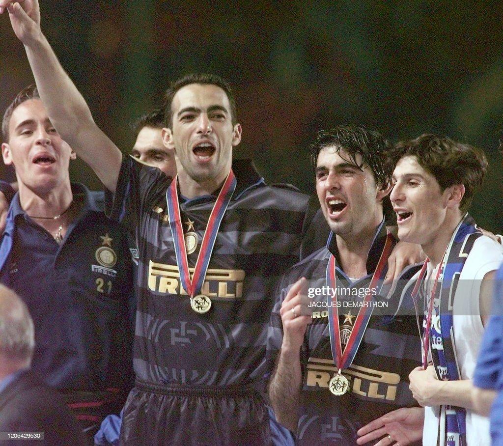 SOCCER-UEFA-MILAN-ROME : Foto di attualità