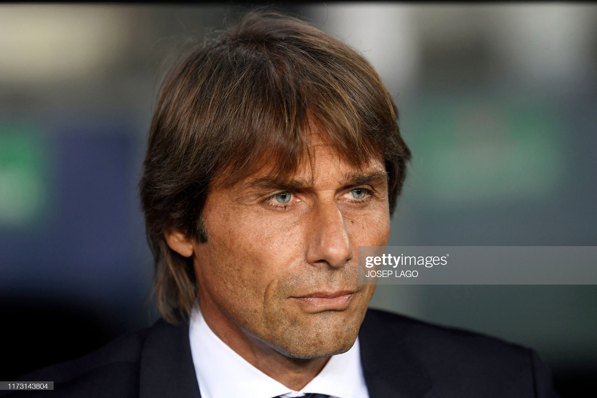 صور مباراة : برشلونة - إنتر 2-1 ( 02-10-2019 )  Inter-milans-italian-coach-antonio-conte-looks-on-before-the-uefa-picture-id1173143804?s=2048x2048