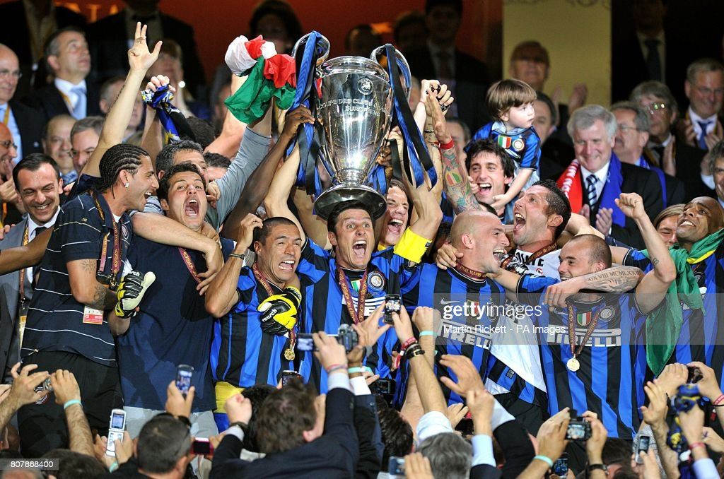 Soccer - UEFA Champions League - Final - Bayern Munich v Inter Milan - Santiago Bernabeu : News Photo