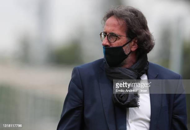Inter Primavera coach Armando Madonna looks on prior to the Primavera 1 TIM match between FC Internazionale U19 and ACF Fiorentina U19 at Stadio...