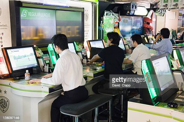 Interactive computer games, Tokyo, Japan