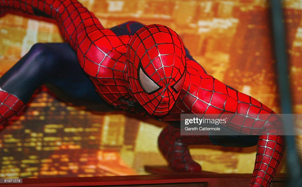 GBR: Spider-Man 2 At Madame Tussauds - Photocall : News Photo