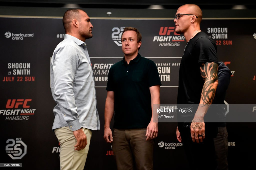 UFC Fight Night Shogun v Smith: Ultimate Media Day