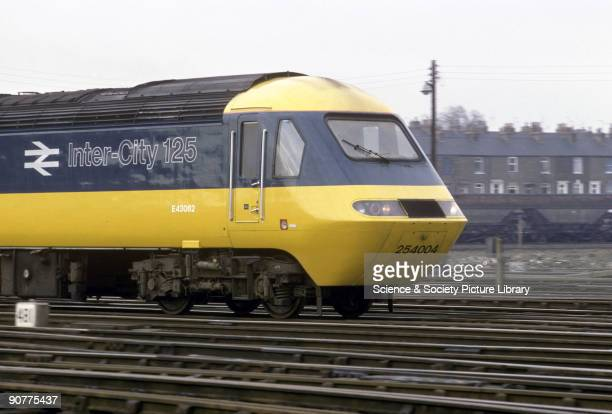 Inter-City 125 diesel locomotive number 254004, by Chris Hogg, 1993. These High Speed Trains were launched in 1974 and brought about significant...