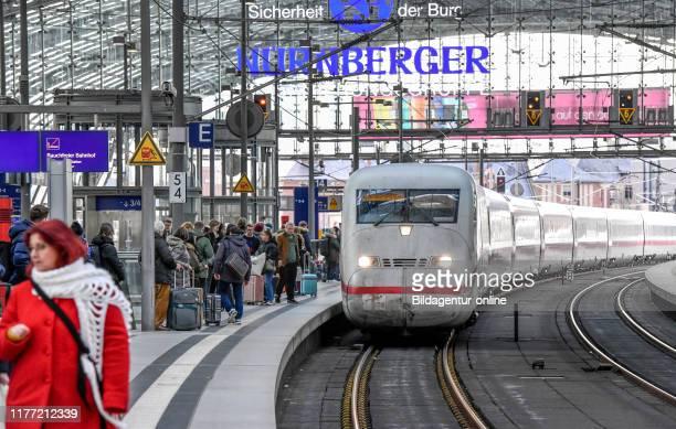 Intercity express central station Moabit middle Berlin Germany ICE Hauptbahnhof Mitte Germany