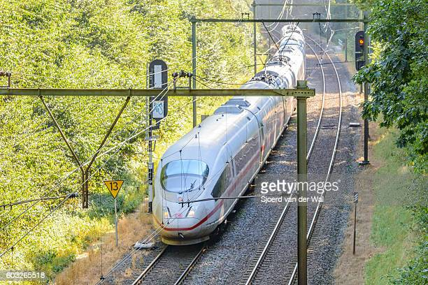 "intercity express (ice) train of the deutsche bahn (db) - ""sjoerd van der wal"" fotografías e imágenes de stock"