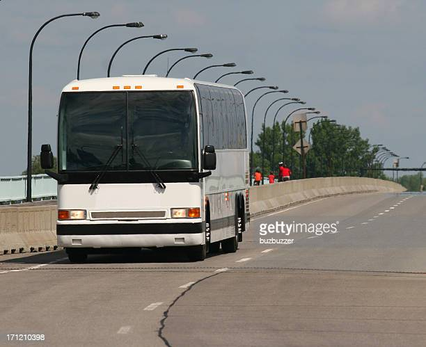inter-city transporter - greyhound stock photos and pictures