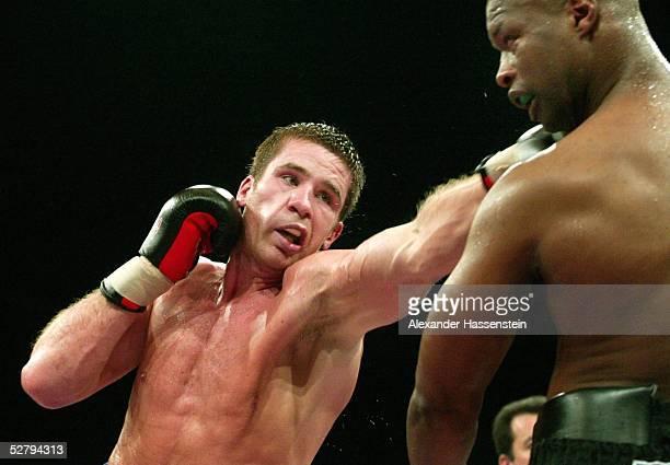 Intercontinental Meisterschaft 2003, Schwergewicht, Riesa; Zuri LAWRENCE /USA - Timo HOFFMANN /GER