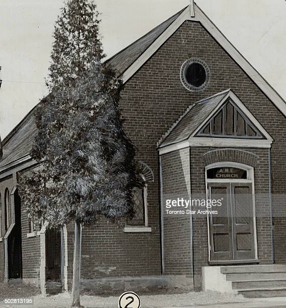 Interest is revived in oakville negro church With only two members of its small congregation employed the African Methodist Episcopal church at...