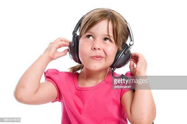interesting sounds - ear exam stock photos and pictures