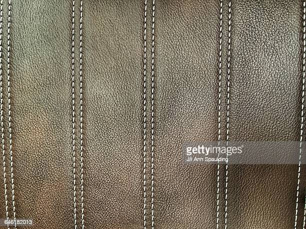interesting textures - stiches stock photos and pictures