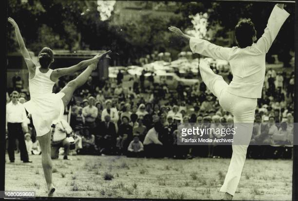 InterFaith Open Air Service At The Domain Claimed To Be Sydneys Largest Open Air Religious GatheringDance by Warren De Maria amp Stephanie St Clair...