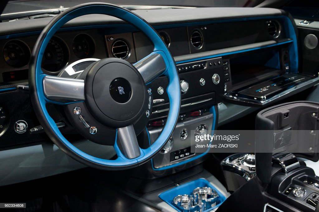 rolls royce au mondial de lautomobile 2014 news photo