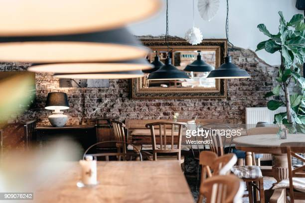 Interieur of a cafe