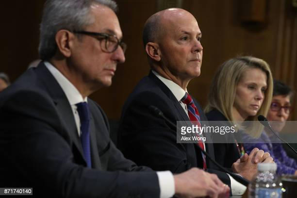 Interim CEO of Equifax Paulino Barros former CEO of Equifax Richard Smith former CEO of Yahoo Marissa Mayer and Deputy General Counsel and Chief...
