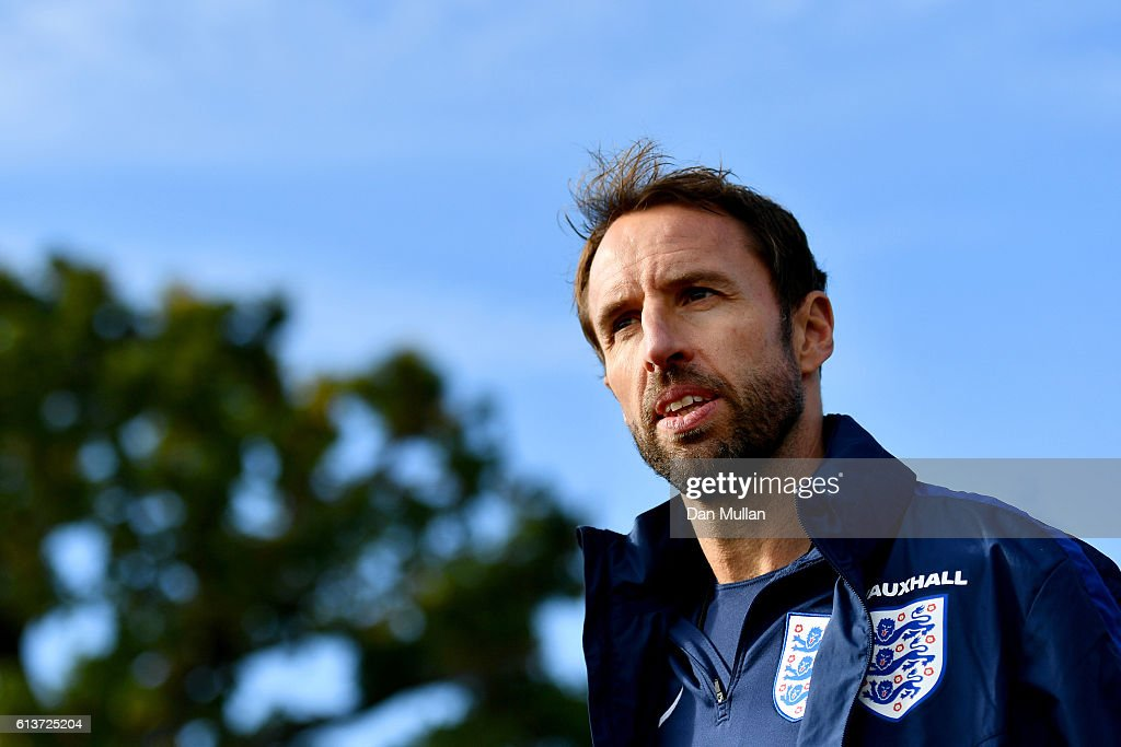 England Training Session : News Photo