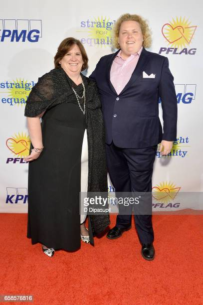 Interim National Executive Director, Beth Kohm and comedian Fortune Feimster attend the ninth annual PFLAG National Straight for Equality Awards Gala...