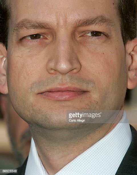 Interim US Attorney R Alexander Acosta speaks to the press following a court hearing in which Washington Lobbyist Jack Abramoff plead guilty to two...