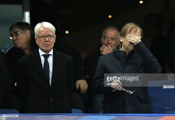 Interims Präsidenten Dr. Reinhard Rauball und Dr. Rainer Koch Fussball Freundschaftsspiel : Frankreich - Deutschland Football friendly match national...