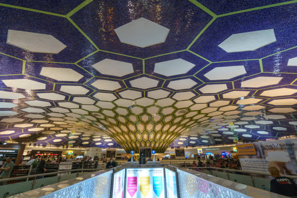 Interior Abu Dhabi International Airport