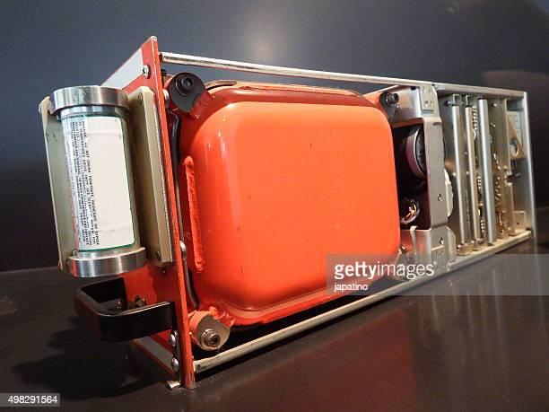 Interior airplane black box