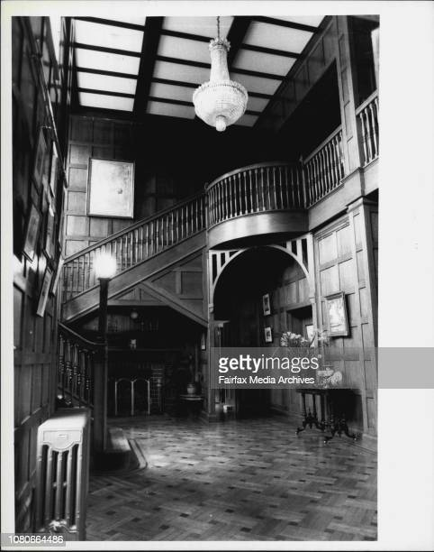 Interior and exterior of home 17 Boomerang St Turramurra which is expected to fetch over 1½ million dollars at auction in October January 19 1985