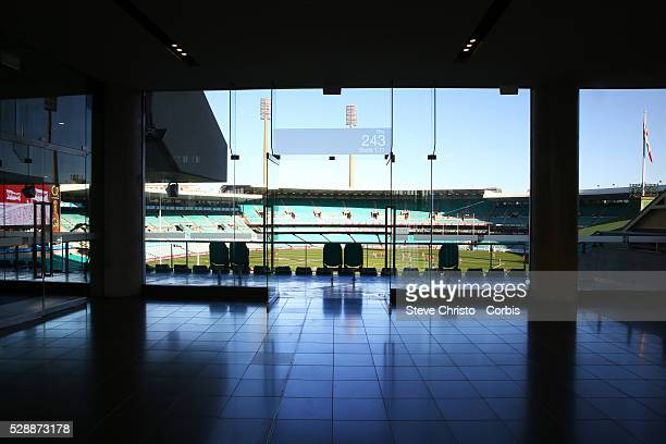 Interior and exterior shots of the Sydney Cricket Ground new state-of-the-art modern pavilion, replacing the existing Noble, Bradman and Messenger...